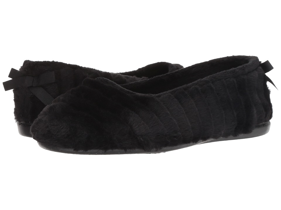 Patricia Green Jane (Black) Slippers