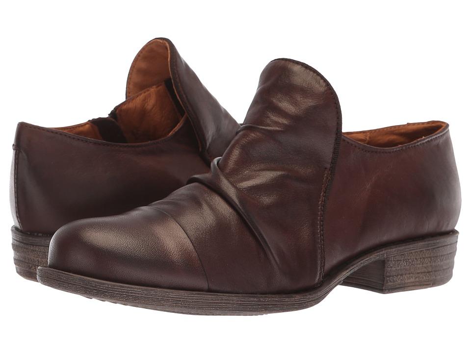 Miz Mooz Lilith (Brown) Women's Shoes