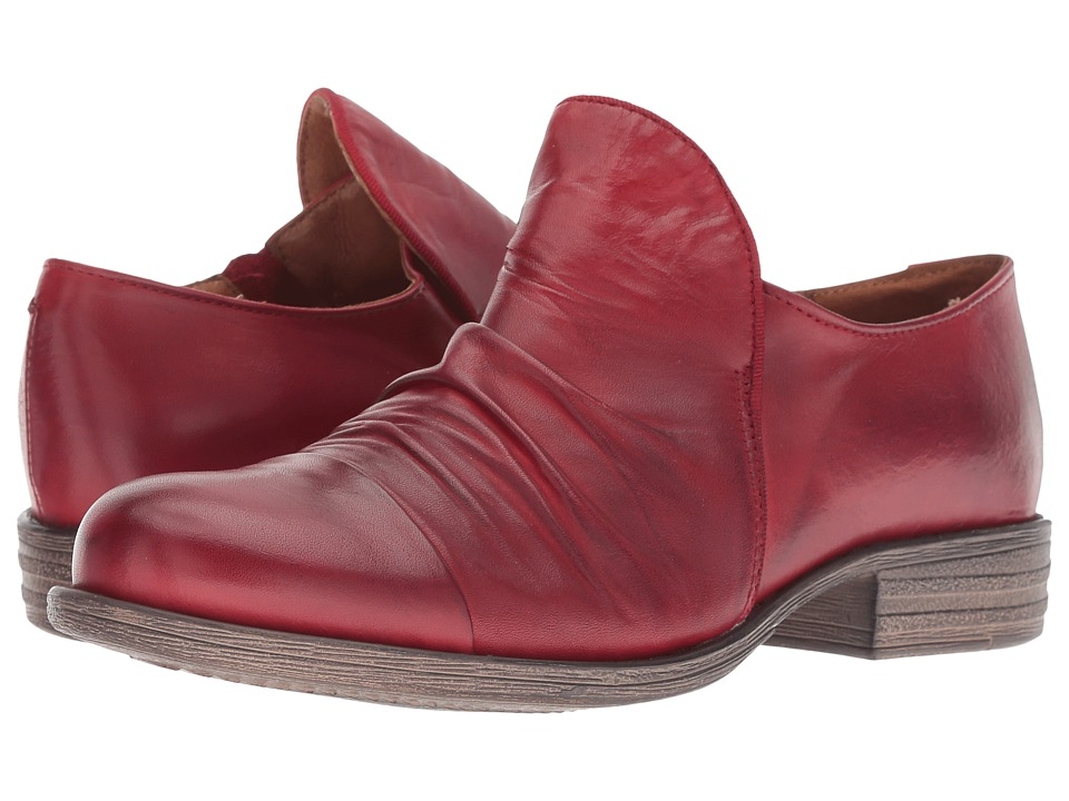 Miz Mooz Lilith (Red) Women's Shoes