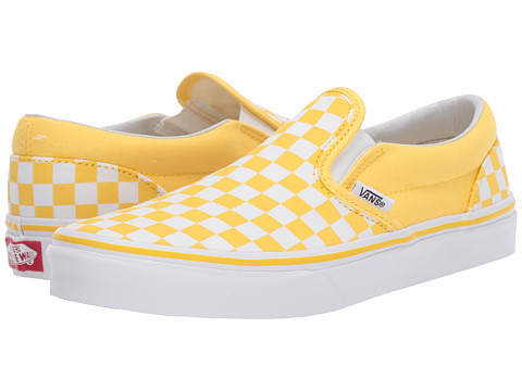 2fea2104777 Vans Kids Classic Slip-On (Little Kid Big Kid) at Zappos.com