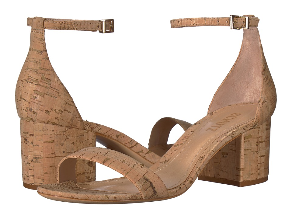 Schutz Chimes (Natural) Women's Shoes