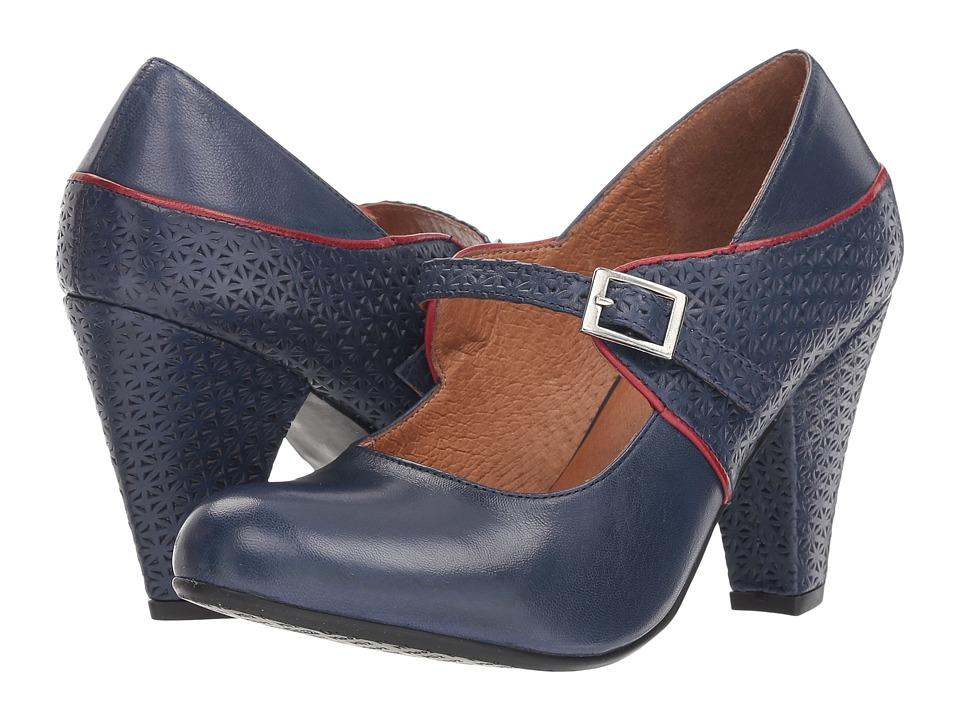 Miz Mooz Chantelle (Blue) Women's Shoes