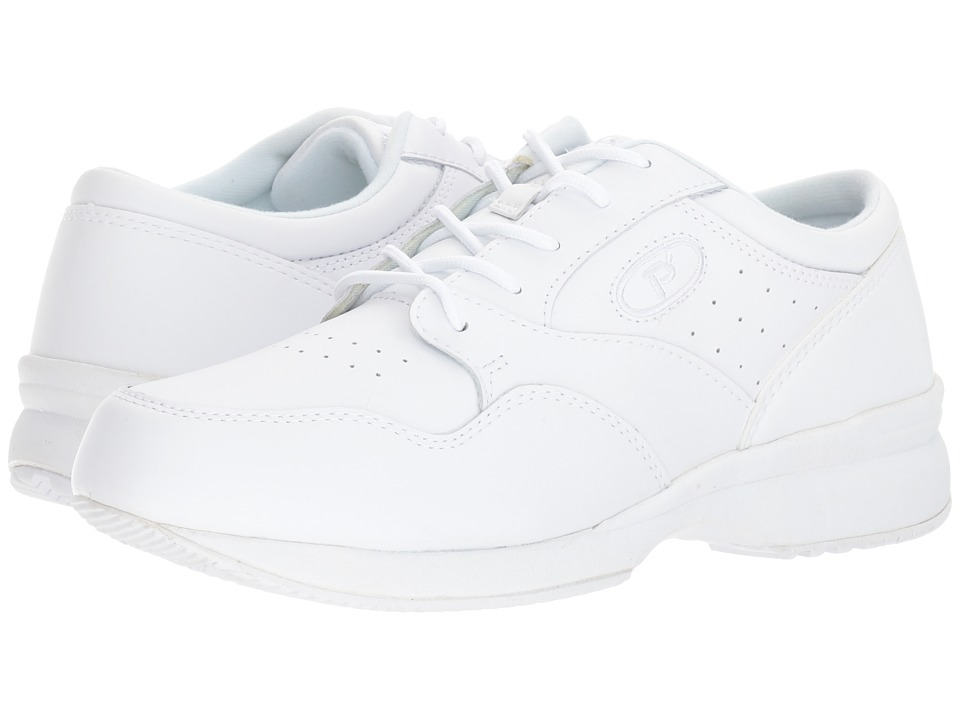 Propet - Life Walker Medicare/HCPCS Code = A5500 Diabetic Shoe (White) Men