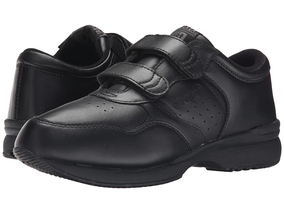 Propet - Life Walker Strap Medicare/HCPCS Code = A5500 Diabetic Shoe (Black) Men