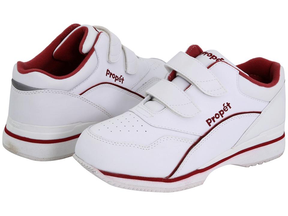 Propet Tour Walker Medicare/HCPCS Code = A5500 Diabetic Shoe (White/Berry) Women's Shoes