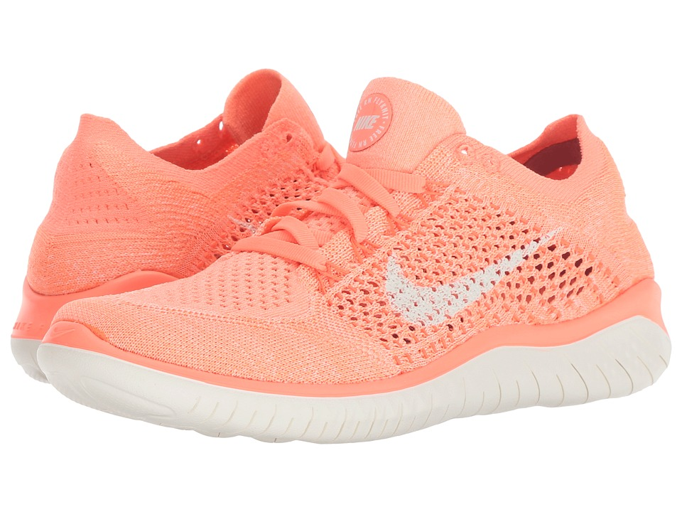 Nike Free RN Flyknit (Crimson Pulse/Sail/Hyper Crimson) Women's Shoes