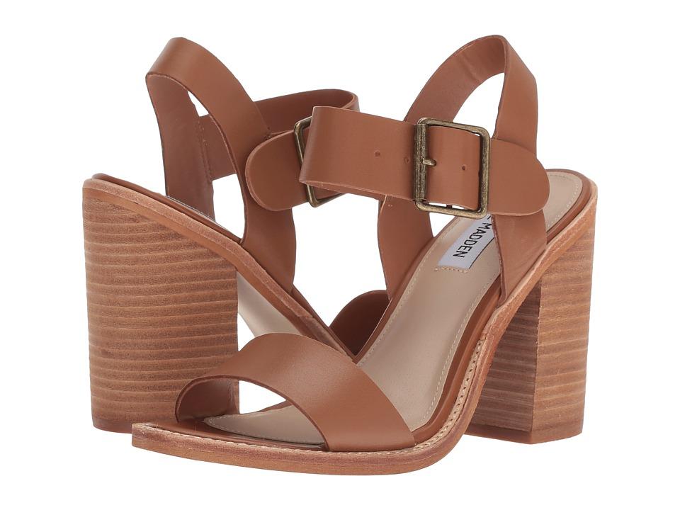 Steve Madden Castro (Cognac Leather) Women's Shoes