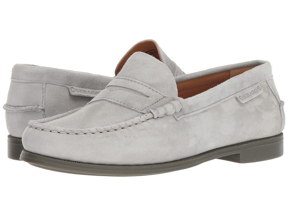 Sebago Plaza II (Light Grey Suede) Slip-On Shoes