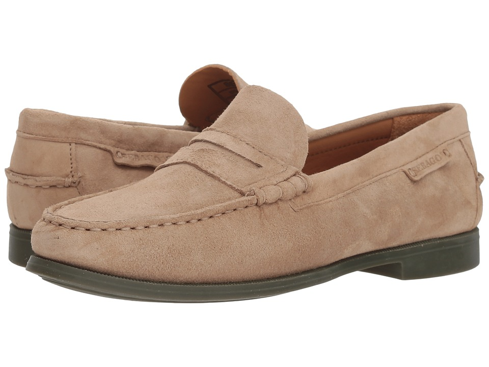 Sebago Plaza II (Tan Suede) Slip-On Shoes