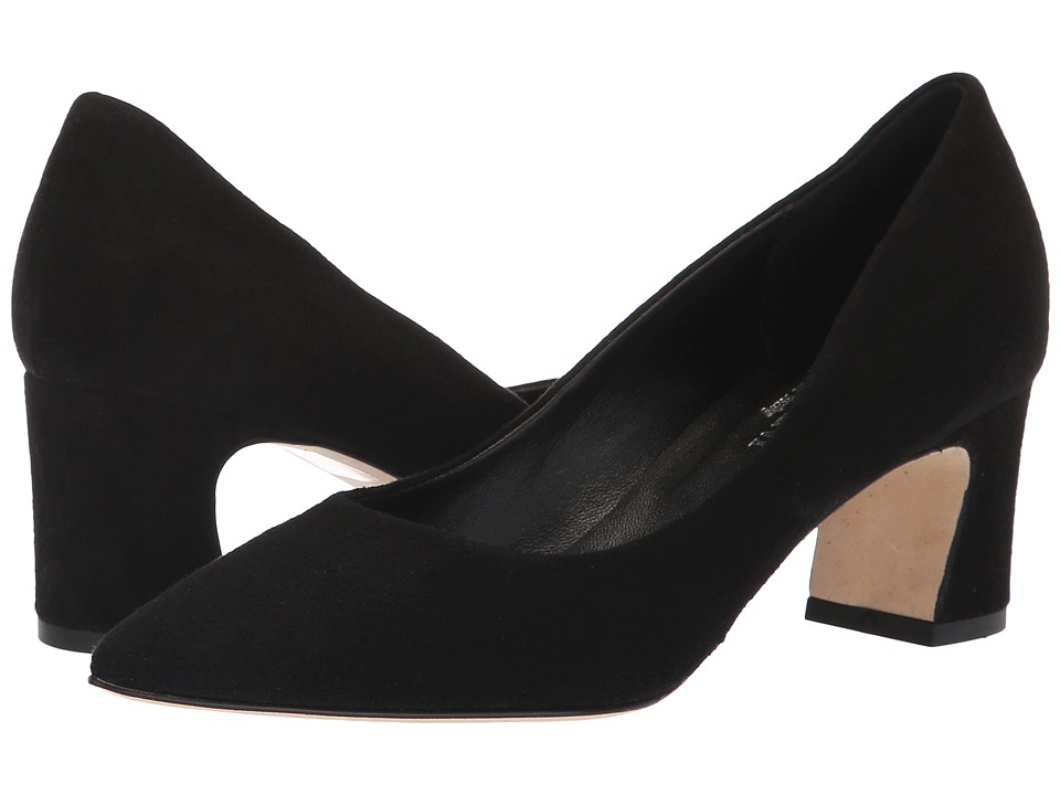 Cordani Newbury (Black Suede) Women's Shoes