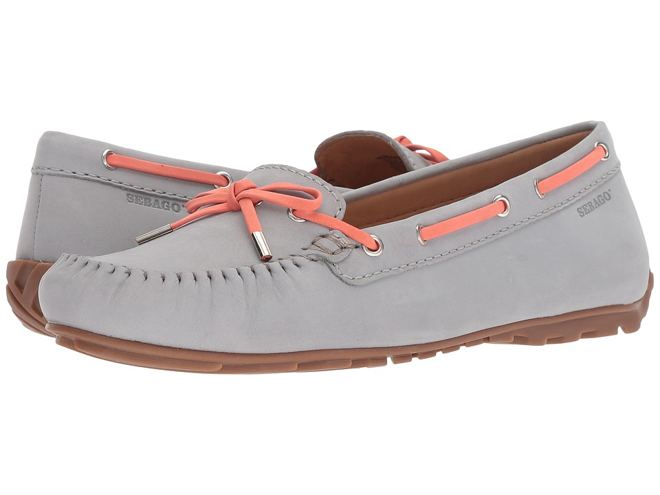 Sebago Harper Tie (Light Grey Nubuck) Women's Shoes