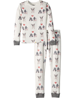Dogs Hearts Two-Piece Jammies Set (Toddler/Little Kids/Big Kids)
