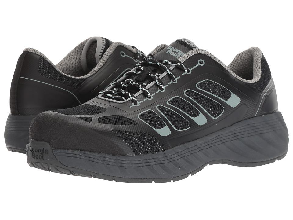 Georgia Boot ReFLX Alloy Toe (Black/Grey) Women's Work Boots