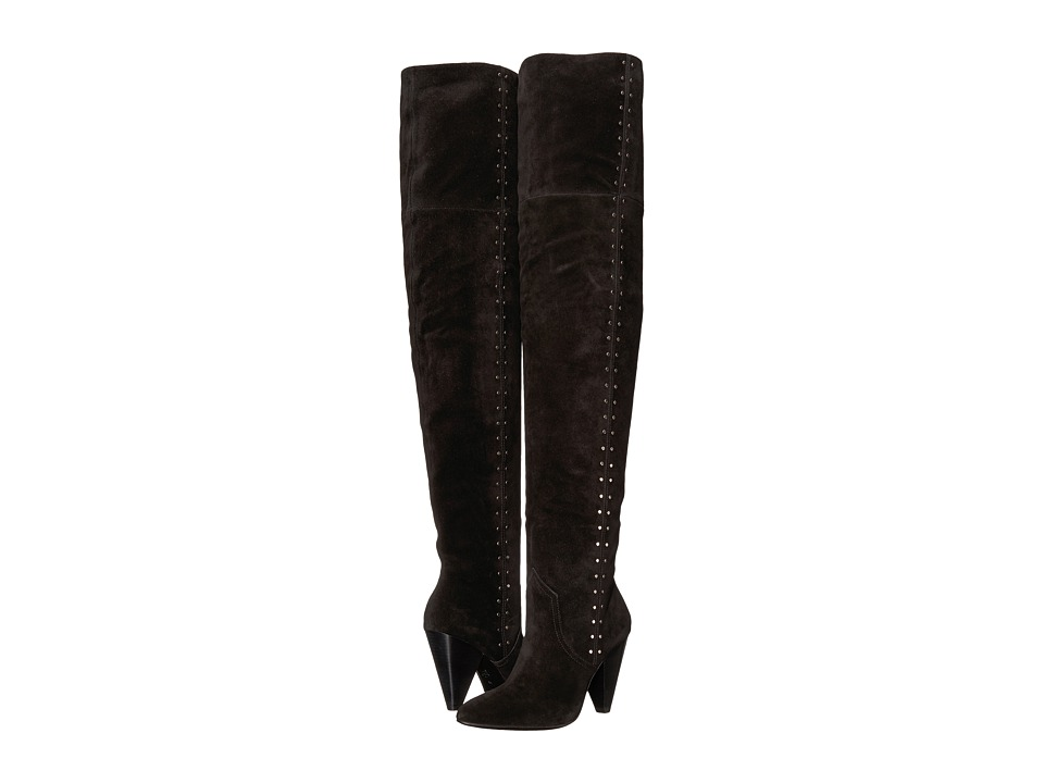 Joie Gallison (Black Calf Suede) Women's Shoes