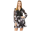 Cupcakes and Cashmere Joaline Lace Detailed Print Dress