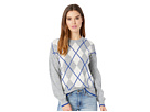 Cupcakes and Cashmere Indy Argyle Sweater