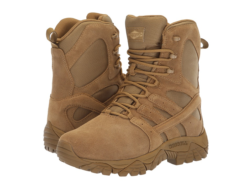 Merrell Work Moab 2 Tactical Defense (Coyote) Women's Work Boots