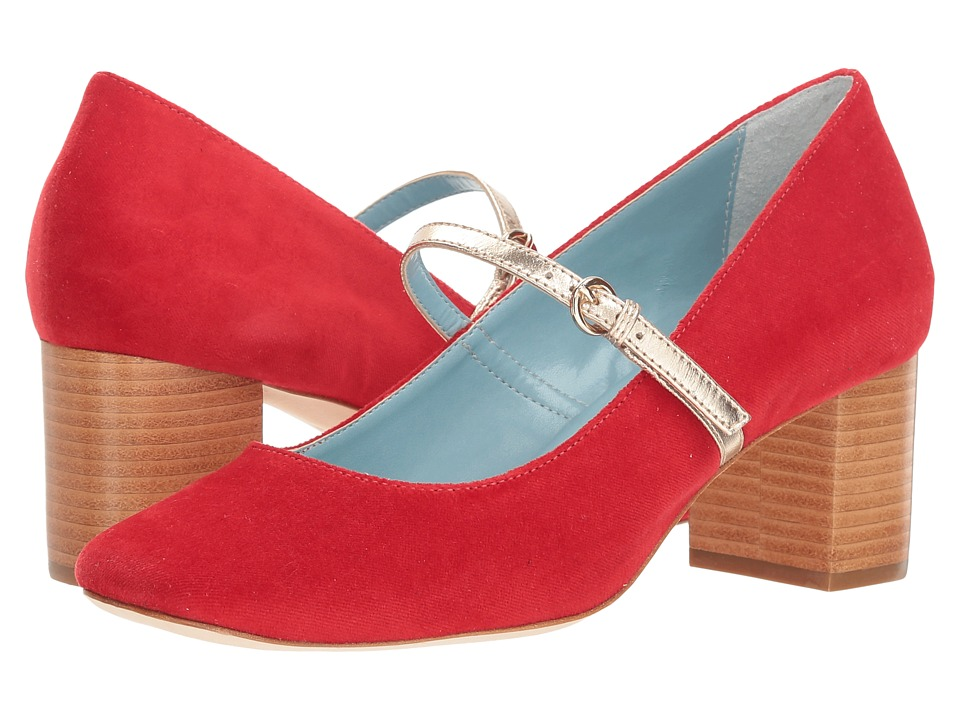 Frances Valentine Kat (Red Velvet) Women's Shoes