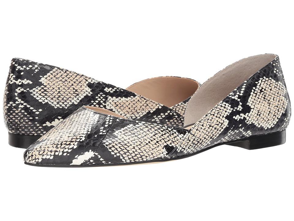 Marc Fisher LTD Sunnys 2 (Natural Beige/Black/Natural Print Snake) Women's Shoes