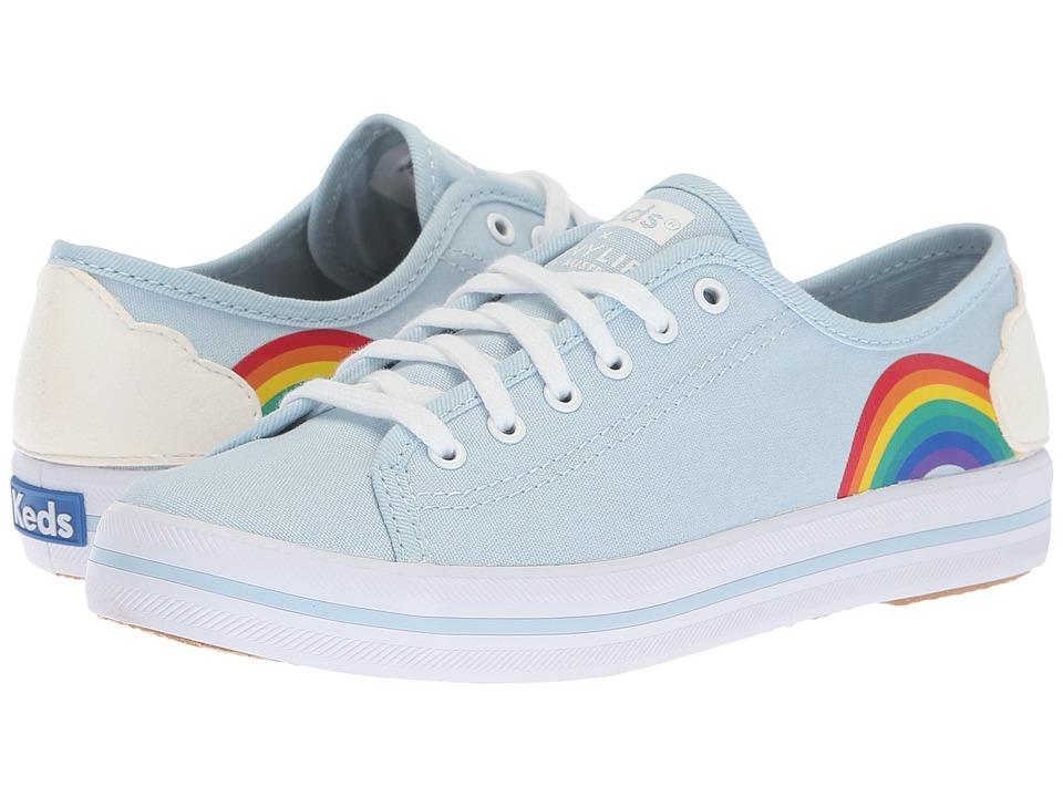 Keds Keds X Sunnylife Kickstart Rainbow (Blue Canvas)