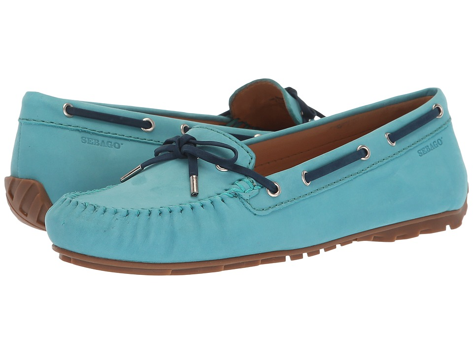 Sebago Harper Tie (Dark Teal) Women's Shoes