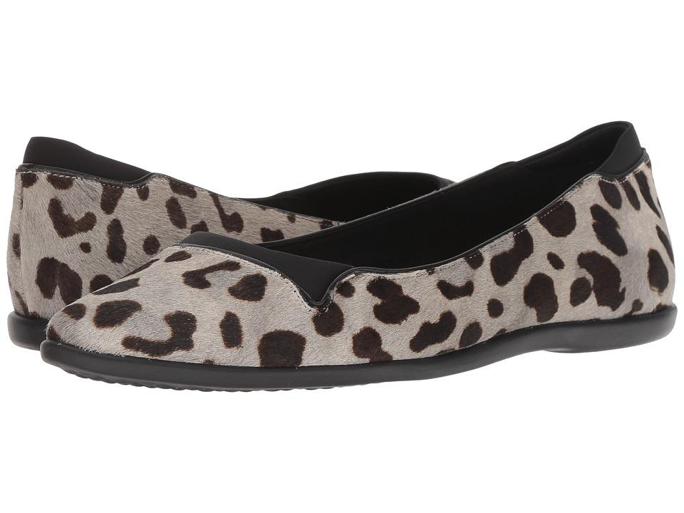 Cole Haan 3.Zerogrand Skimmer (Ocelot Haircalf/Black) Women's Shoes