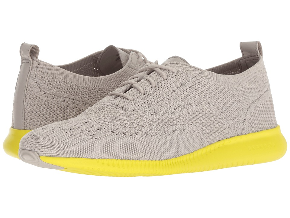 Cole Haan 2.Zerogrand Stitchlite Oxford (Dove Knit/Sulpher Sruce) Women's Shoes