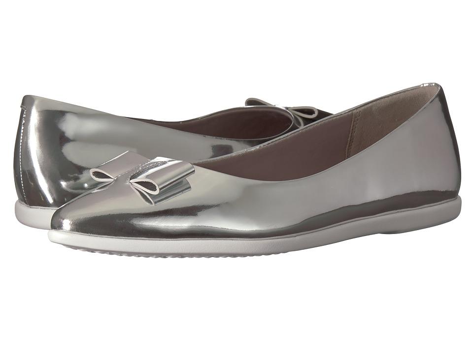 Cole Haan 3.Zerogrand Bow Skimmer (Ch Argento Metallic) Women's Shoes