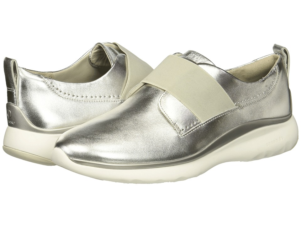 Cole Haan 3.Zerogrand Oxford (Argento Leather) Women's Shoes