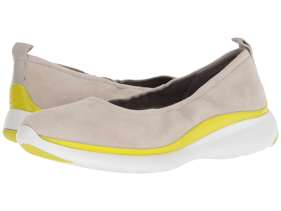 Cole Haan 3.Zerogrand Ruched Slip-On (Dove/Sulpher Spruce) Women's Shoes
