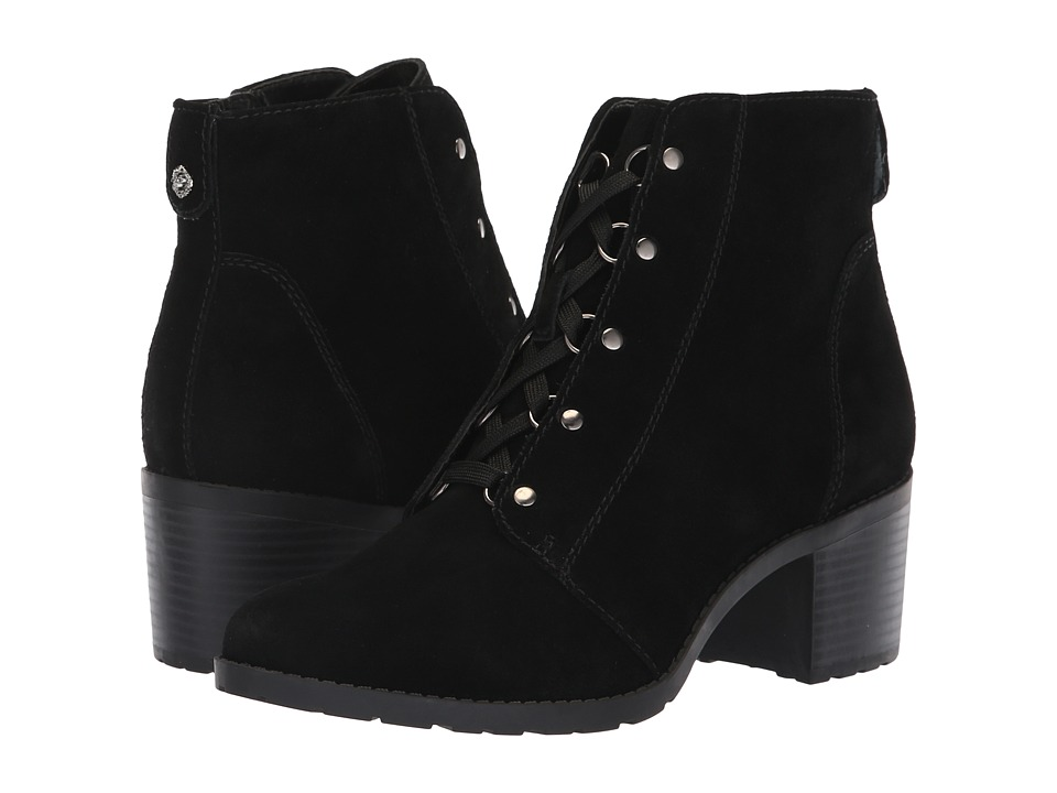 Anne Klein Kimbree Boot (Black Suede)