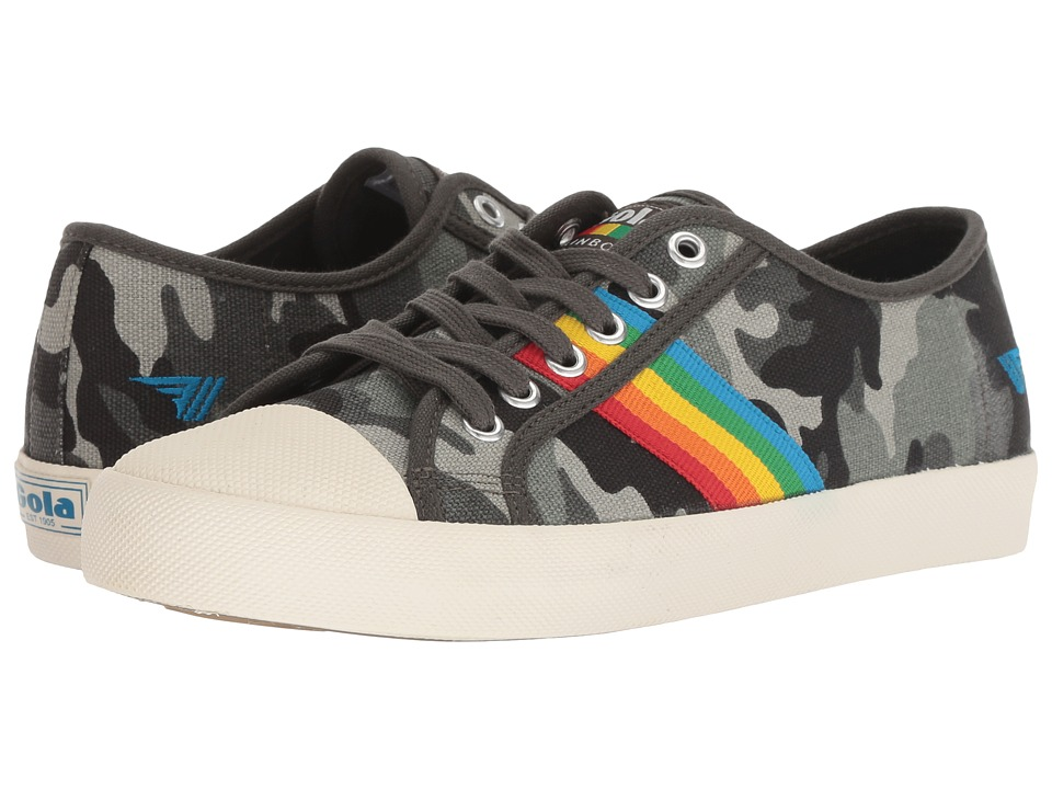 Gola Coaster Rainbow (Camo/Multi) Women's Shoes