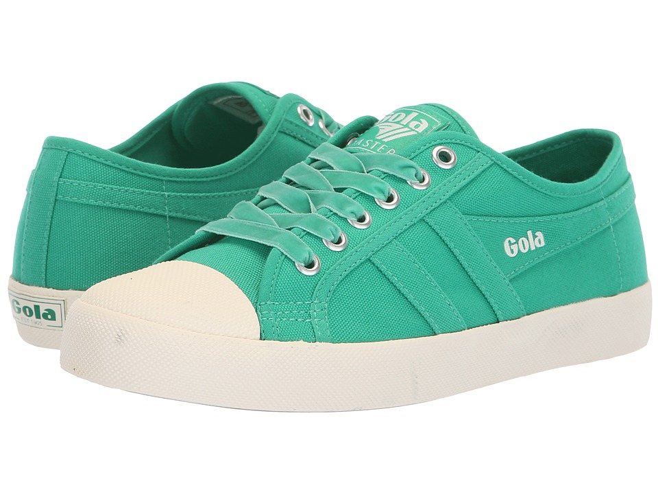Gola Coaster (Emerald Green/Off-White) Women's Shoes