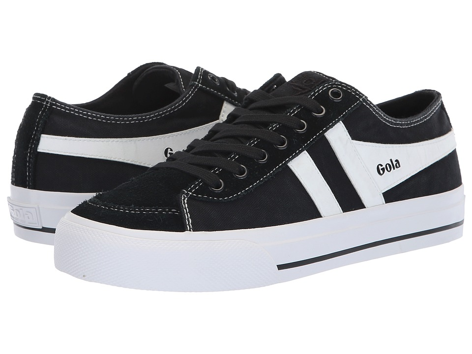 Gola Quota II (Black/White) Women's Shoes