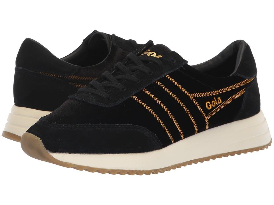 Gola Montreal Velvet (Black) Women's Shoes