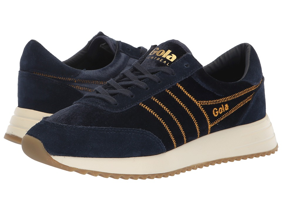 Gola Montreal Velvet (Navy) Women's Shoes