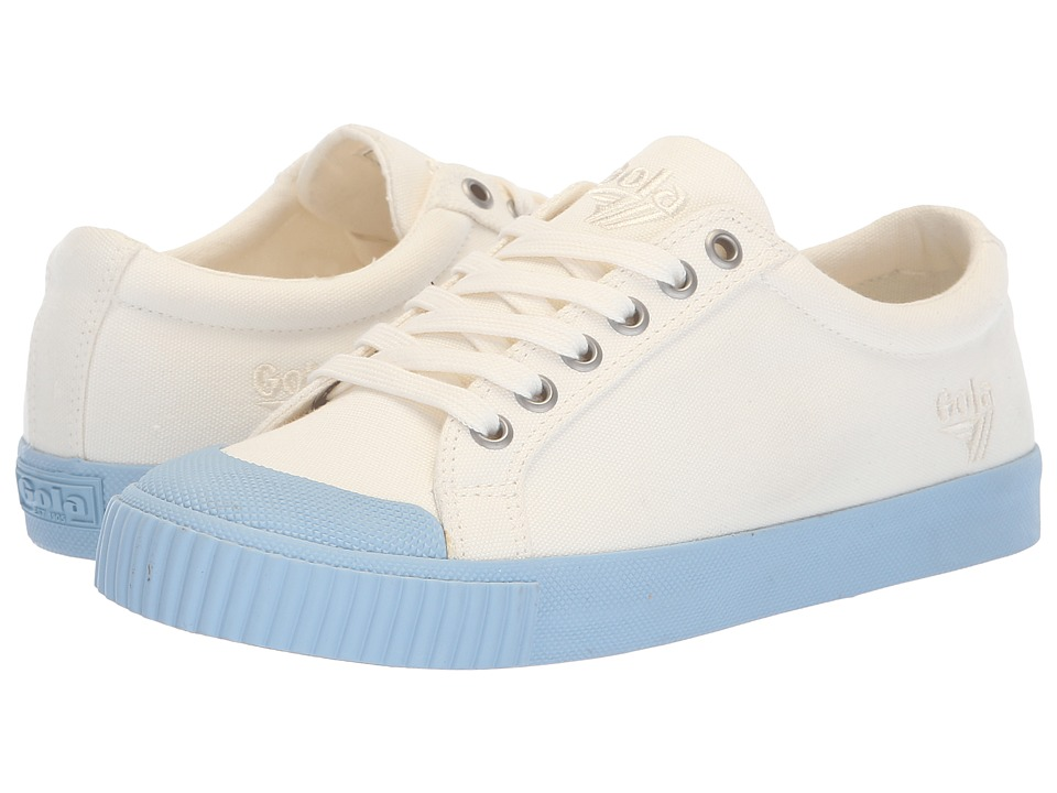 Gola Tiebreak Candy (Off-White/Powder Blue) Women's Shoes