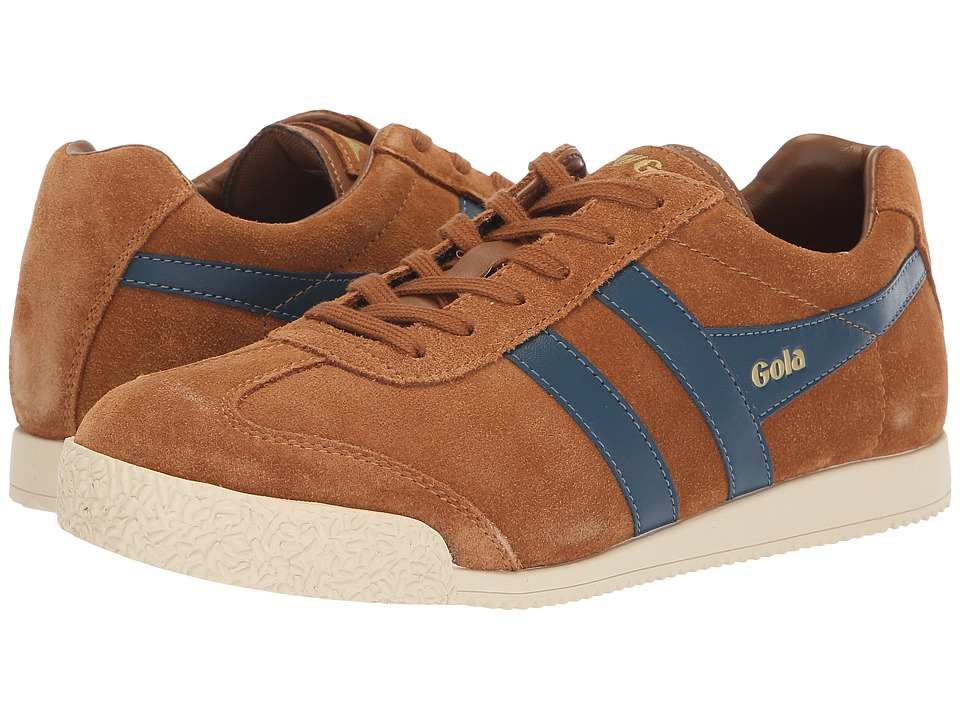 Gola Harrier (Caramel/Baltic) Women's Shoes