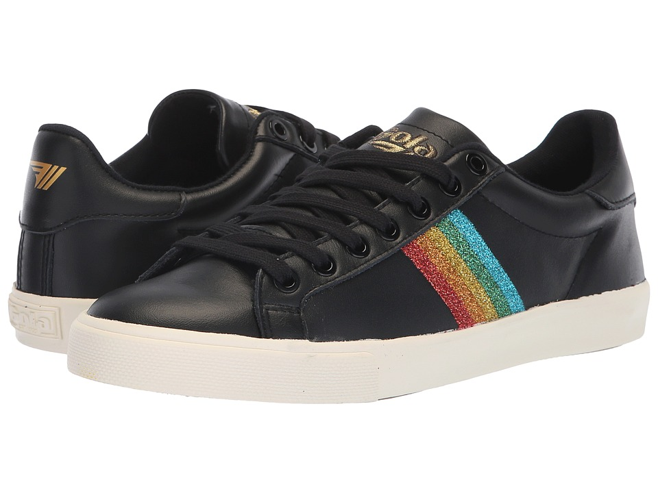 Gola Orchid Rainbow Glitter (Black/Multi) Women's Shoes