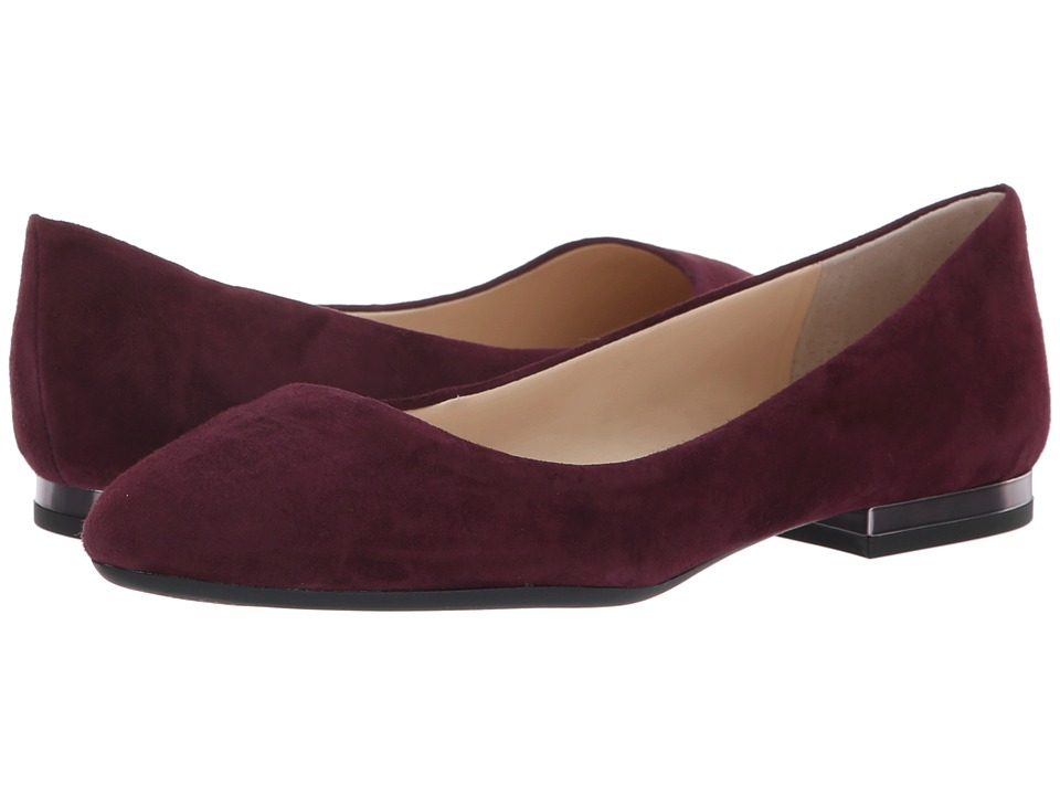 Jessica Simpson Ginly (Shiraz Lux Kid Suede) Women's Dress Flat Shoes