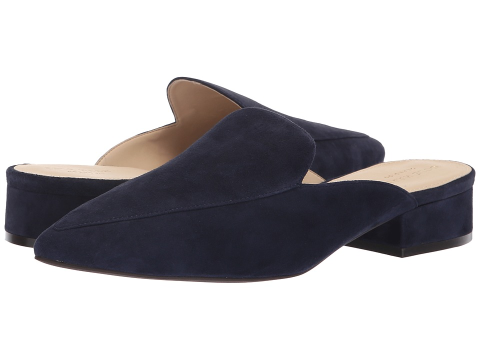 Cole Haan Piper Mule (Marine Blue Suede) Women's Shoes