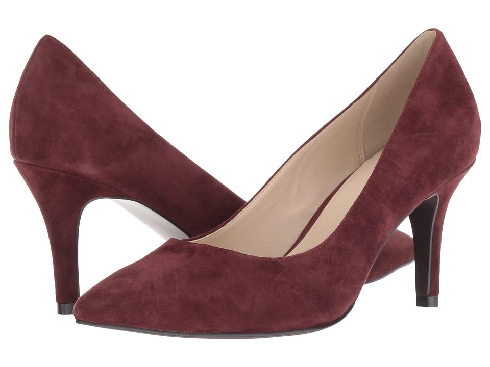 Cole Haan Juliana Pump 75mm (Cordovan Suede) High Heels