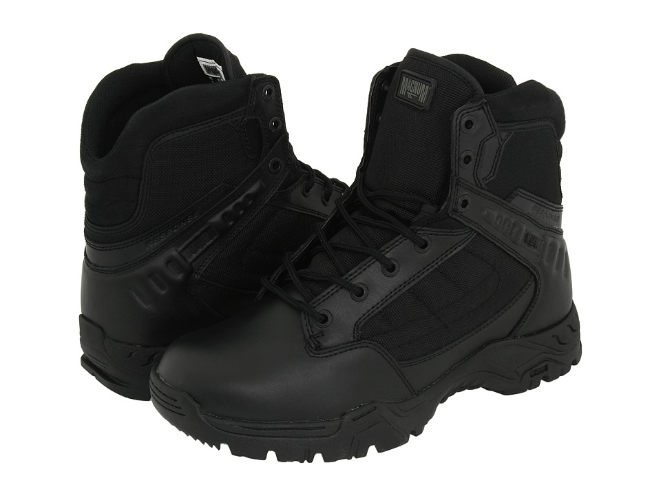 Magnum Response II 6 Black Mens Work Boots