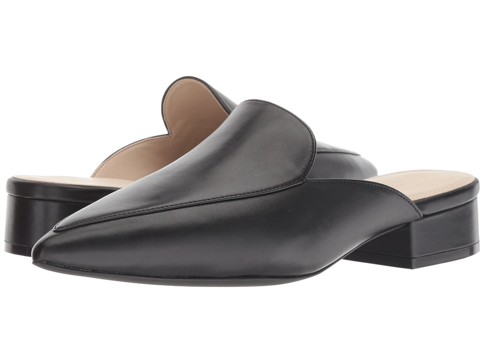 Cole Haan Piper Mule (Black Leather) Women's Shoes
