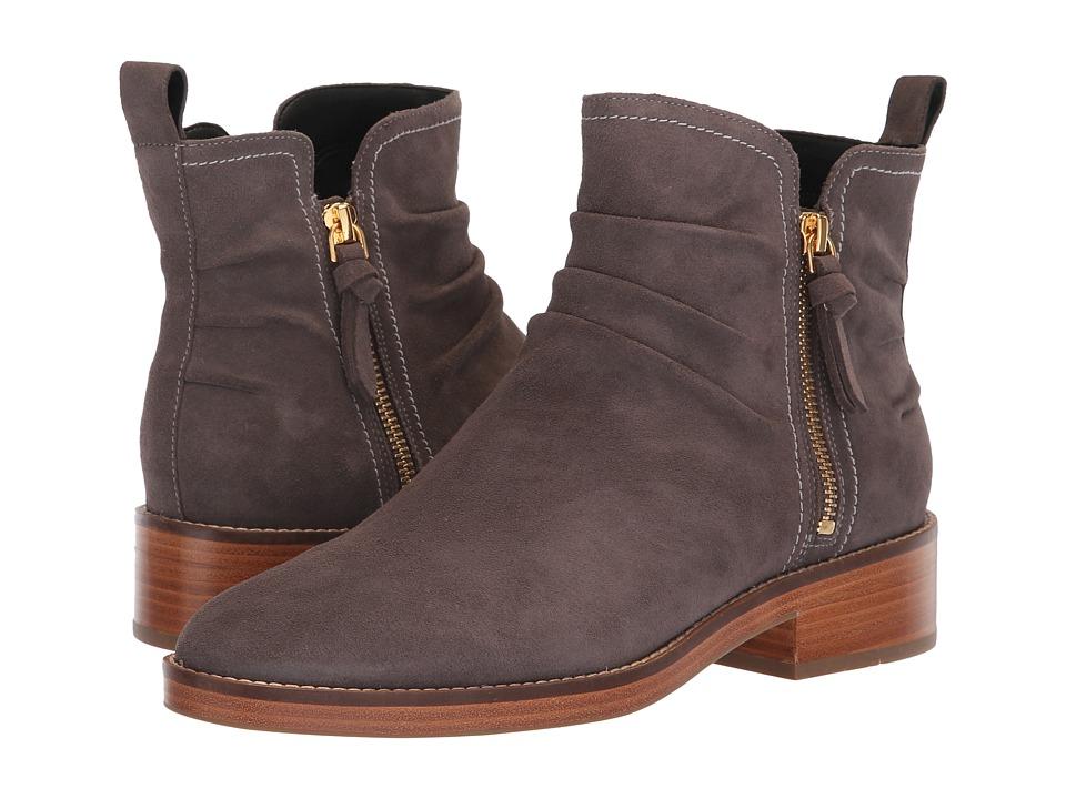 Cole Haan Harrington Grand Slouch Bootie (Stormcloud Suede) Women's Shoes
