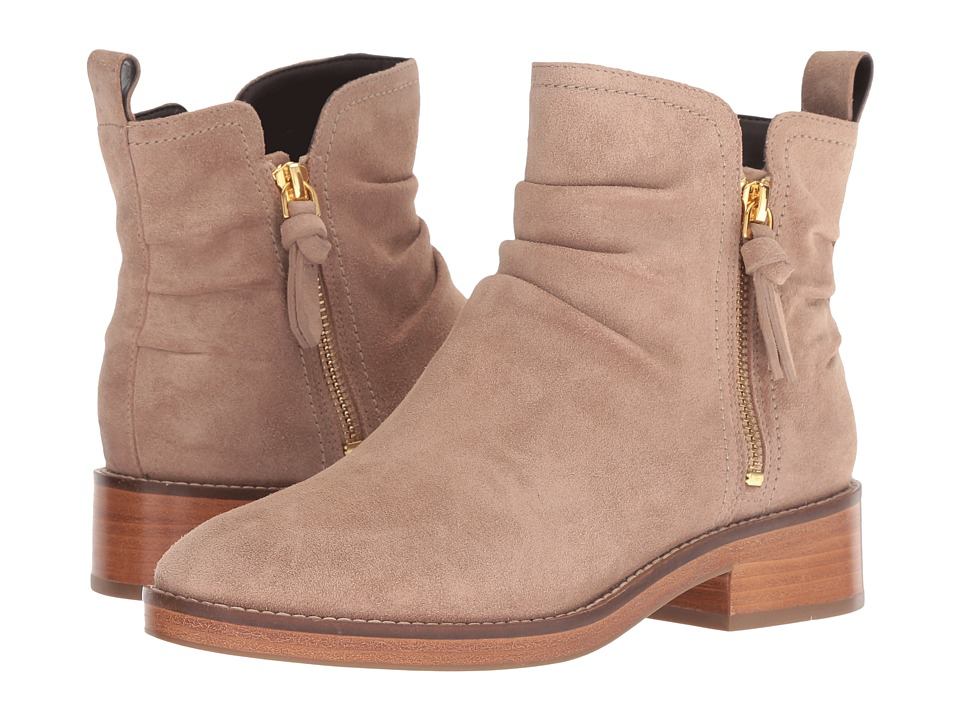 Cole Haan Harrington Grand Slouch Bootie (Maple Sugar Suede) Women's Shoes