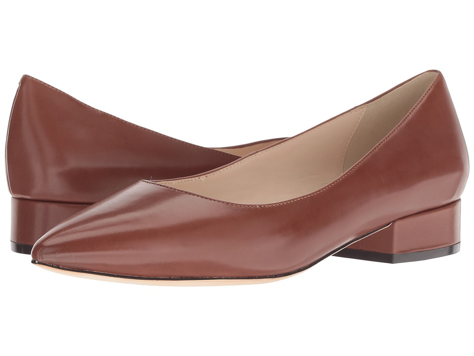 Cole Haan Vesta Skimmer (Cherry Mahogany Leather) Women's Shoes
