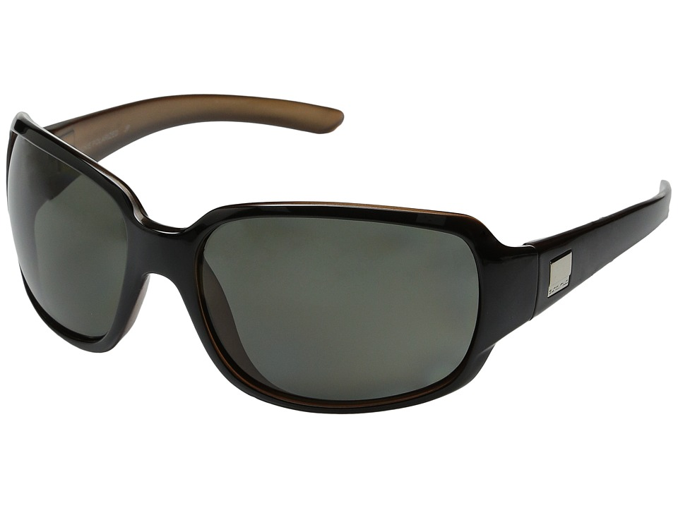 SunCloud Polarized Optics Cookie (Black Backpaint/Gray Polarized Lens) Sport Sunglasses
