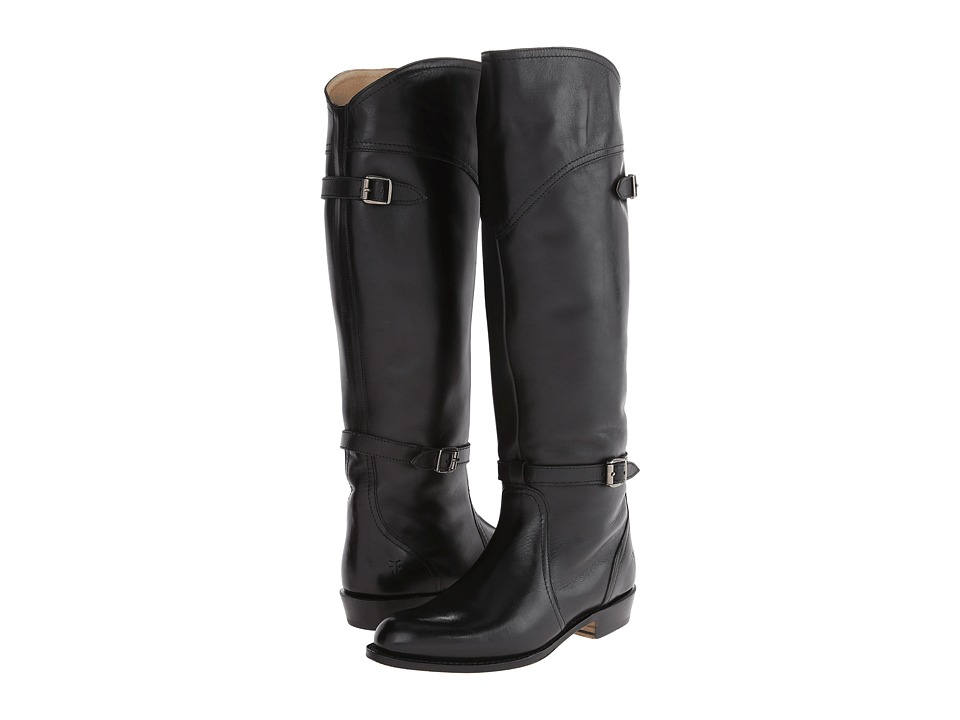 Frye - Dorado Riding (Black Leather) Women