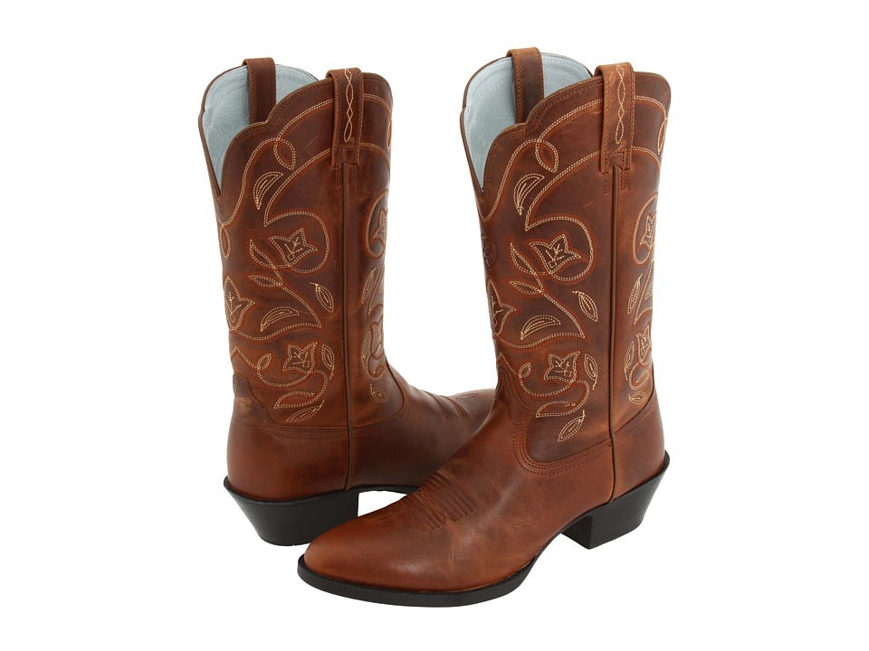 Ariat Western Heritage (Russet Rebel) Cowboy Boots